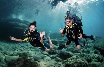 Scuba diving (beginners)