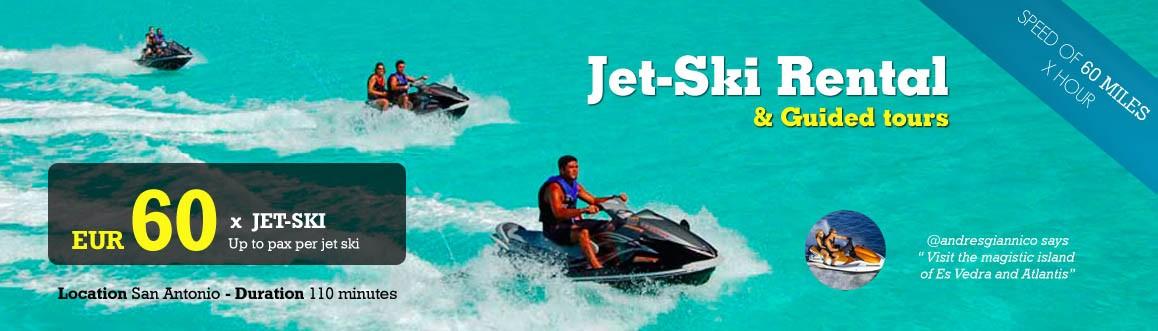 Jet ski rental ( Circuit )