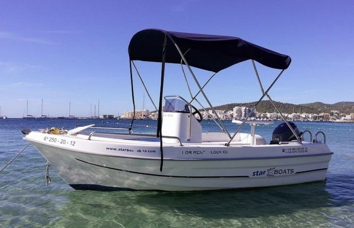Adventure Boat Rental Without License Ibiza15 HP