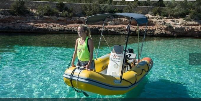 Boat Rental 15 Hp Things To Do Ibiza