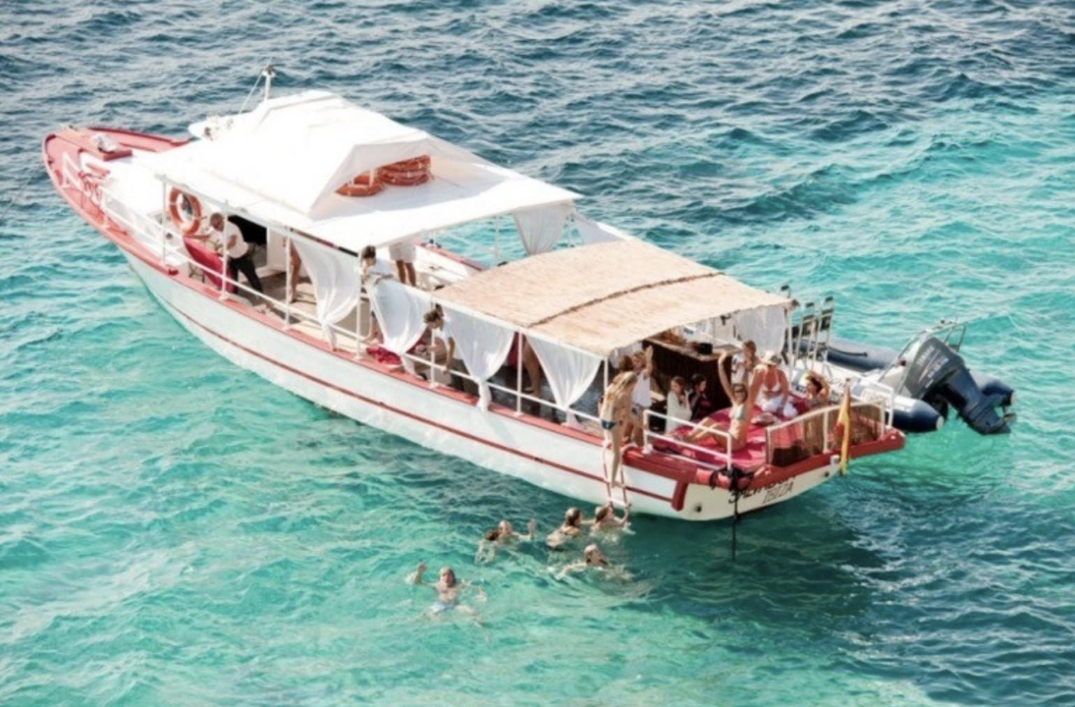 Salvador Ibiza Style Boat Trip San Antonio Port ...