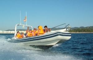 White Shark Speed Boat