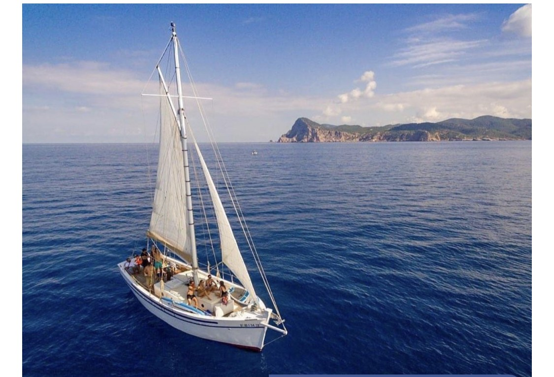 Sail Boat Luna Plena Ibiza