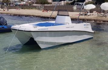 CATAMARAN Boat Rental 15 HP