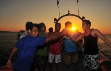 Speed Boat Sunset trip