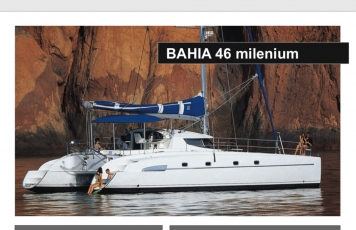 HIRE A CATAMARAN BAHIA 46 IN IBIZA
